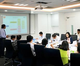 FMIT®  đào tạo quản lý dự án chuẩn quốc tế PMI®  tại Công ty Bản Việt (Viet Capital Real Estate)