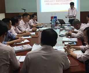 FMIT® đào tạo quản lý dự án chuẩn quốc tế PMI® tại Công ty Công nghiệp Hóa chất (CECO)